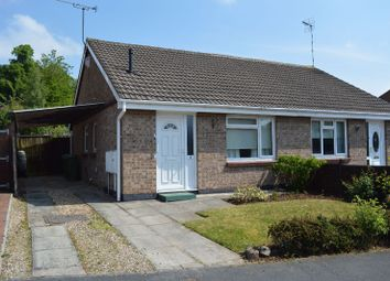 Thumbnail 2 bed bungalow for sale in Foxhill Drive, Glen Parva, Leicester