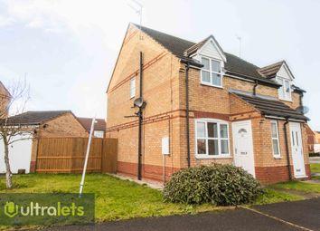 Thumbnail 2 bedroom semi-detached house to rent in Marbury Park, Kingswood, Hull