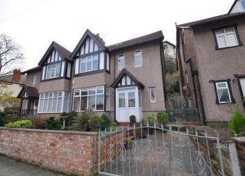 Thumbnail 4 bed semi-detached house for sale in St. James Road, New Brighton, Wallasey
