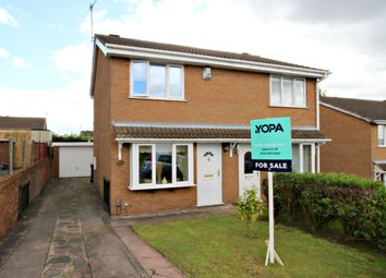 Thumbnail 2 bedroom semi-detached house for sale in Knarsdale Close, Longton, Stoke-On-Trent