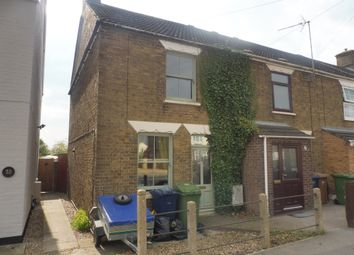 Thumbnail 2 bed end terrace house for sale in Wisbech Road, March