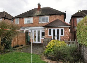 Thumbnail 3 bedroom semi-detached house for sale in Lynholme Road, Leicester