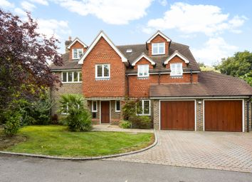 Thumbnail 6 bedroom detached house to rent in Caerleon Close, Claygate, Esher