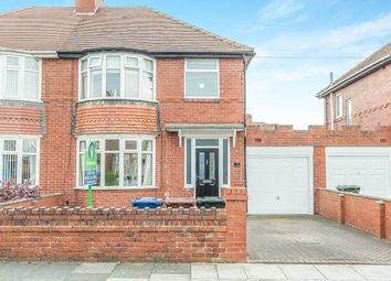 Thumbnail 3 bed semi-detached house for sale in Peartree Gardens, Walkerville, Newcastle Upon Tyne