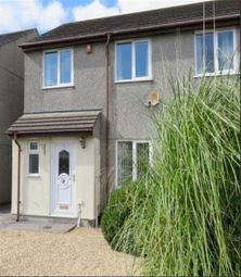 Thumbnail 3 bed semi-detached house to rent in Wheal Gerry, Camborne