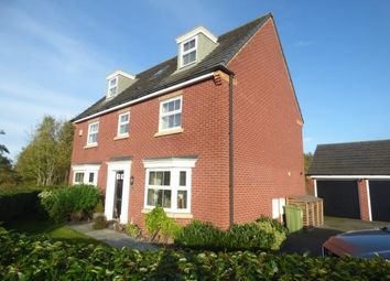 Thumbnail 5 bed detached house for sale in Doughton Green, Widnes, Cheshire