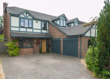 Thumbnail 5 bed detached house for sale in Sunnybank Road, Bowdon, Altrincham