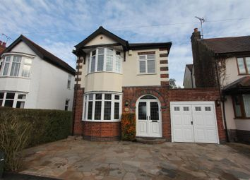 Thumbnail 3 bed detached house for sale in Woodland Road, Hinckley