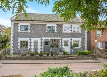 Thumbnail 3 bed semi-detached house for sale in Southrepps, Norwich, Norfolk