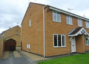 Thumbnail 3 bed semi-detached house for sale in Rochester Court, Bourne, Lincolnshire