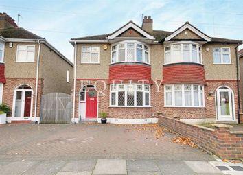 Thumbnail 3 bedroom semi-detached house for sale in Broadoak Avenue, Enfield