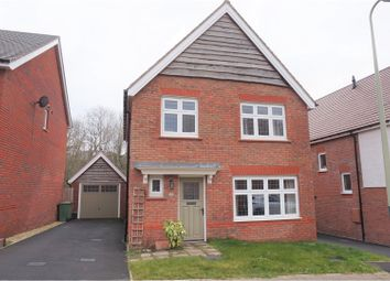 Thumbnail 3 bed detached house for sale in Brambling Crescent, Hengoed
