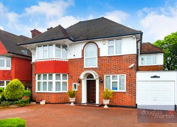 Thumbnail 6 bed detached house for sale in Manor Hall Avenue, London