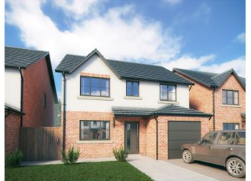 Thumbnail 4 bed detached house for sale in Drury Lane, Buckley