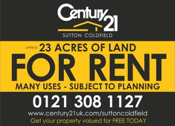 Thumbnail Property to rent in 23 Acres Of Land, Birmingham Road