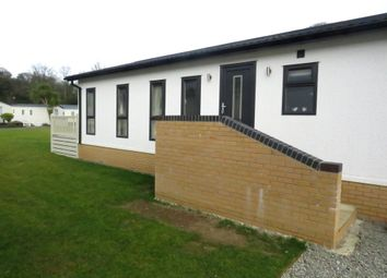 Thumbnail 2 bed mobile/park home for sale in Newmarket, Pentewan, St. Austell