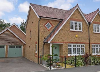 Thumbnail 3 bed semi-detached house for sale in Jackdaw Way, Halling, Rochester, Kent