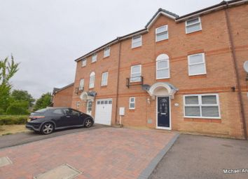 Thumbnail 4 bed town house for sale in The Oval, Oldbrook, Milton Keynes