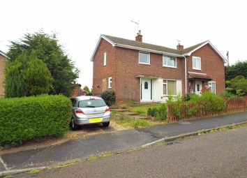 Thumbnail 3 bed semi-detached house for sale in Breck Bank Crescent, New Ollerton, Nottinghamshire