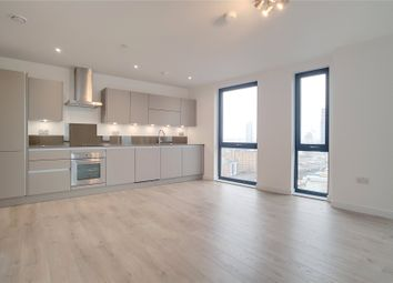 Thumbnail 2 bed flat for sale in Roosevelt Tower, Williamsburg Plaza, Prestons Road, London