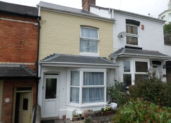 Thumbnail 2 bed terraced house to rent in Wellbrook Terrace, Bideford