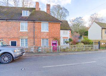 Thumbnail 3 bedroom end terrace house for sale in Hertingfordbury Road, Hertingfordbury, Hertford