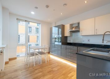 Thumbnail 1 bed flat to rent in Gooch House, Telcon Way, North Greenwich