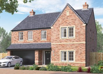 "Thumbnail 5 bed detached house for sale in ""The Kirkham"" at Steeplechase Way, Market Harborough"