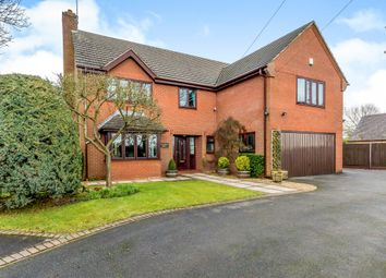 Thumbnail 5 bed detached house for sale in School Lane, Lower Leigh, Leigh, Stoke-On-Trent