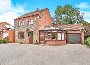 Thumbnail 4 bed detached house for sale in Church Street, Briston, Melton Constable