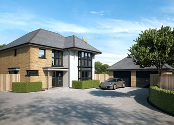 Thumbnail 4 bed detached house for sale in Brookside, Watling Street, Hockliffe