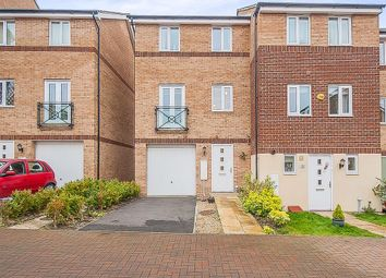 Thumbnail 3 bedroom semi-detached house to rent in Teasel Way, Hampton Centre, Peterborough
