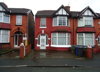 Thumbnail 4 bed semi-detached house to rent in Richmond Avenue, Prestwich, Manchester