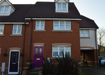 Thumbnail 3 bed town house for sale in Reservoir Close, Greenhithe