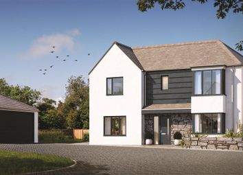 Thumbnail 5 bed detached house for sale in Halwyn Road, Crantock, Newquay