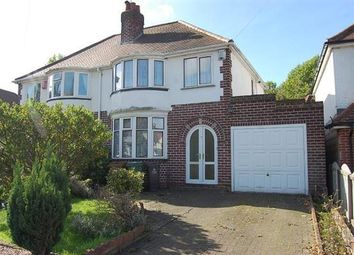 Thumbnail 3 bed semi-detached house to rent in Delves Crescent, Delves, Walsall