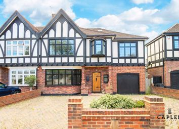 Thumbnail 6 bed semi-detached house to rent in Princes Avenue, Woodford Green