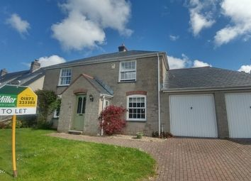 Thumbnail 4 bed property to rent in Kerley Vale, Chacewater, Truro
