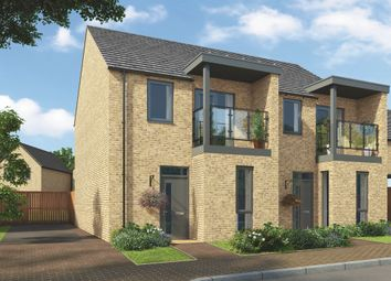 "Thumbnail 3 bed semi-detached house for sale in ""The Murphy"" at Old London Road, Harlow"