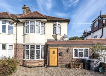 Thumbnail 4 bed semi-detached house for sale in Eastworth Road, Chertsey, Surrey