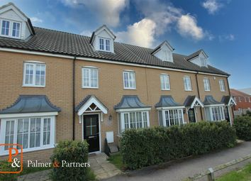 Thumbnail 3 bed town house for sale in Mary Clarke Close, Hadleigh, Ipswich