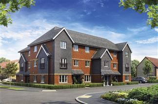 Thumbnail 2 bed flat for sale in Cloverfields, Didcot