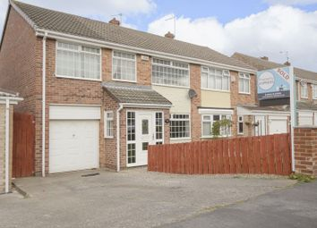 Thumbnail 4 bedroom semi-detached house for sale in Esher Avenue, Normanby, Middlesbrough