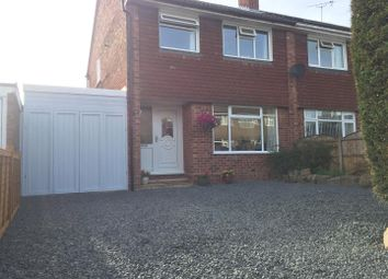 Thumbnail Semi-detached house for sale in Staines Close, Mickleover, Derby
