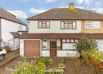Thumbnail 3 bed semi-detached house for sale in Green Lane, St Albans, Hertfordshire
