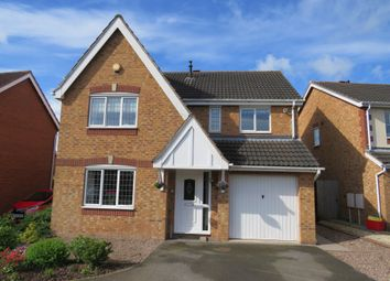 Thumbnail 4 bed detached house for sale in Lime Avenue, Measham, Swadlincote