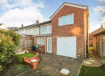 Thumbnail 4 bed end terrace house for sale in Gladstone Road, Ware