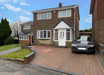 Thumbnail 3 bed detached house for sale in Tividale, Oakham, Hoylake Drive