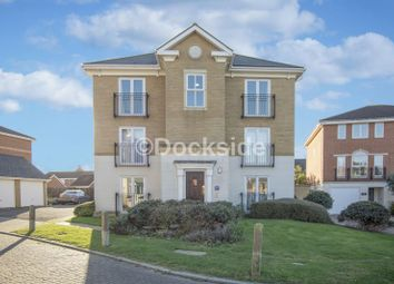 Thumbnail 3 bed flat for sale in Bradfords Close, St. Marys Island, Chatham