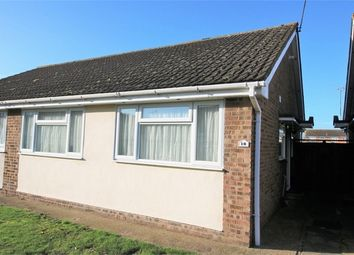 Thumbnail 2 bed semi-detached bungalow to rent in Dorset Way, Canvey Island, Essex